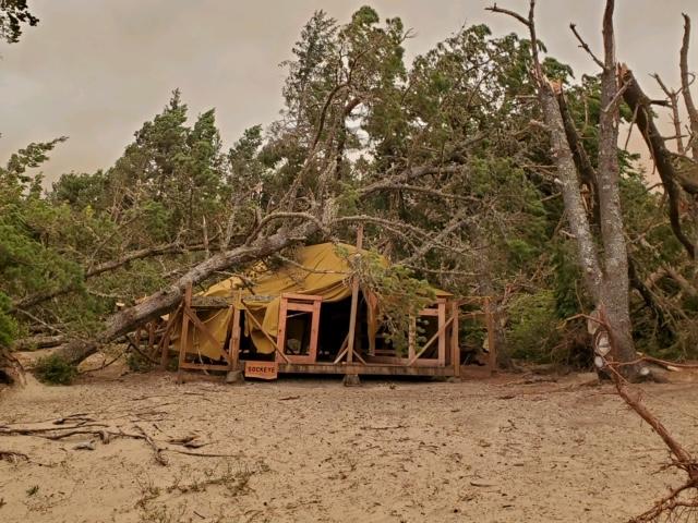 Tent Damage